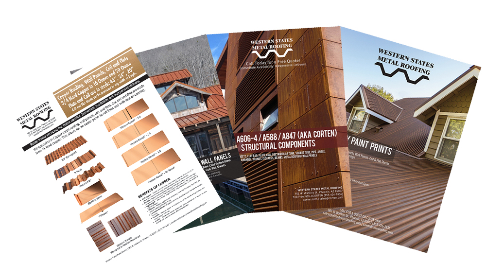 Download Our Copper Roofing Catalog